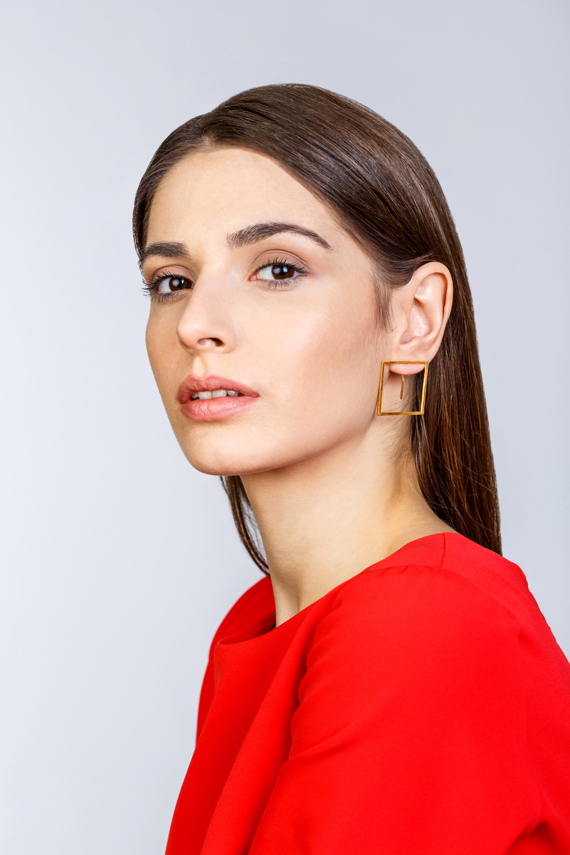Carré Earrings