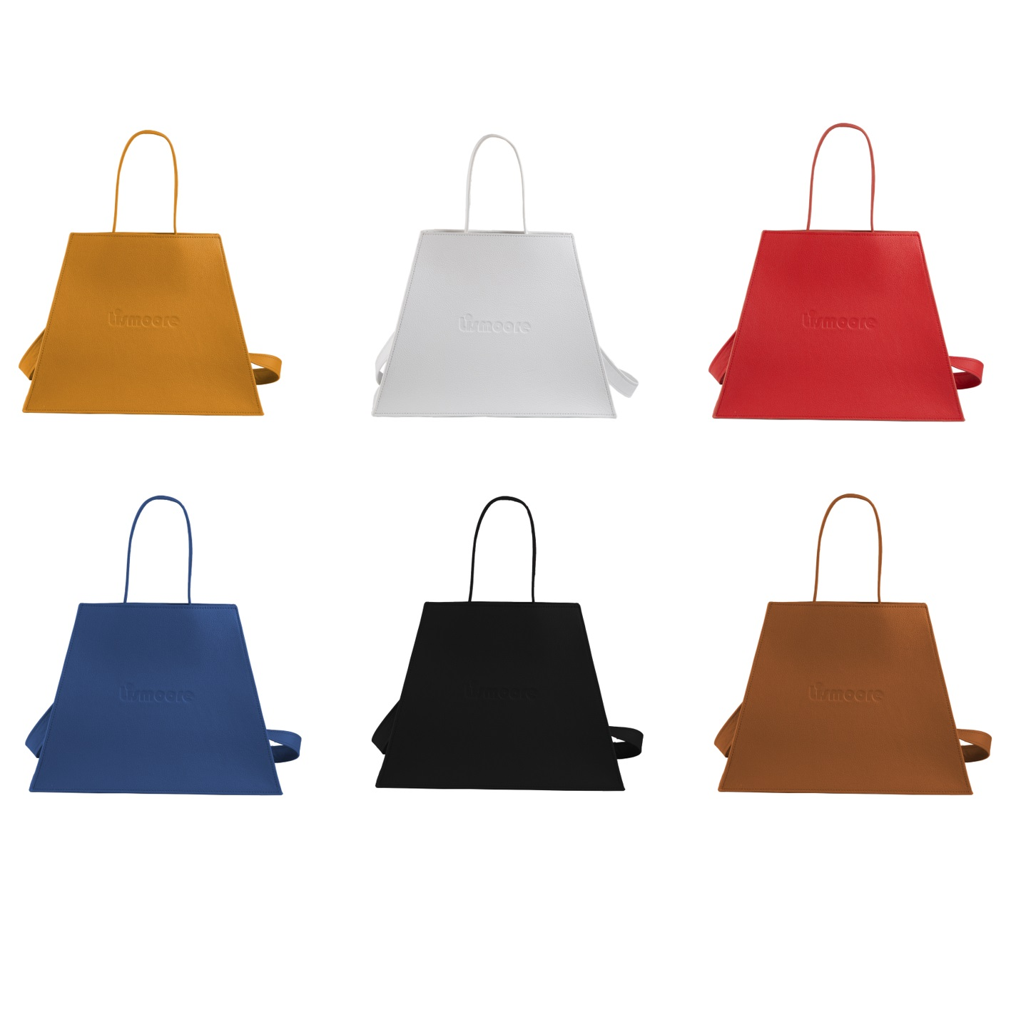 Ismin in six leather colors