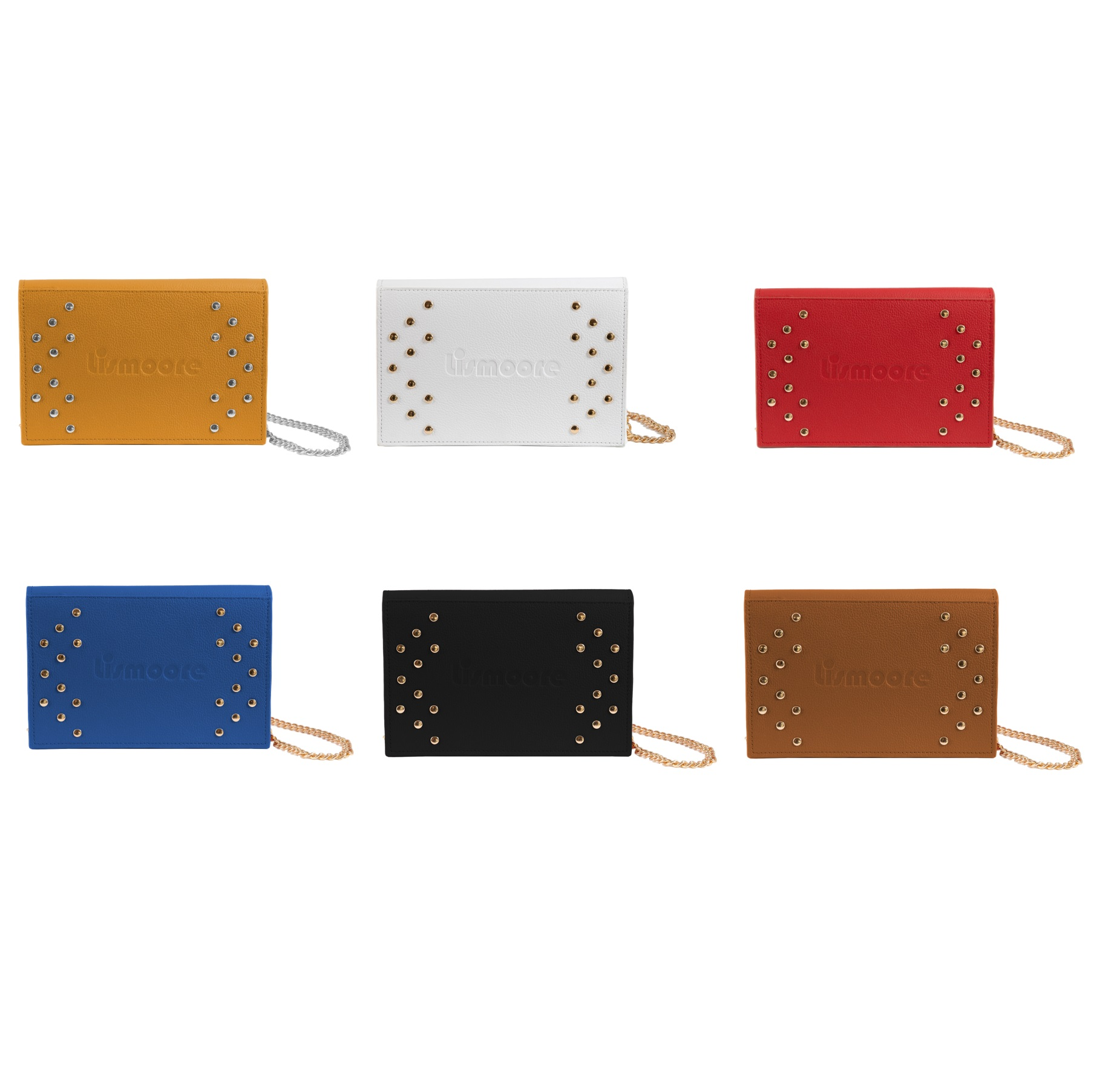 Stami in six leather colors
