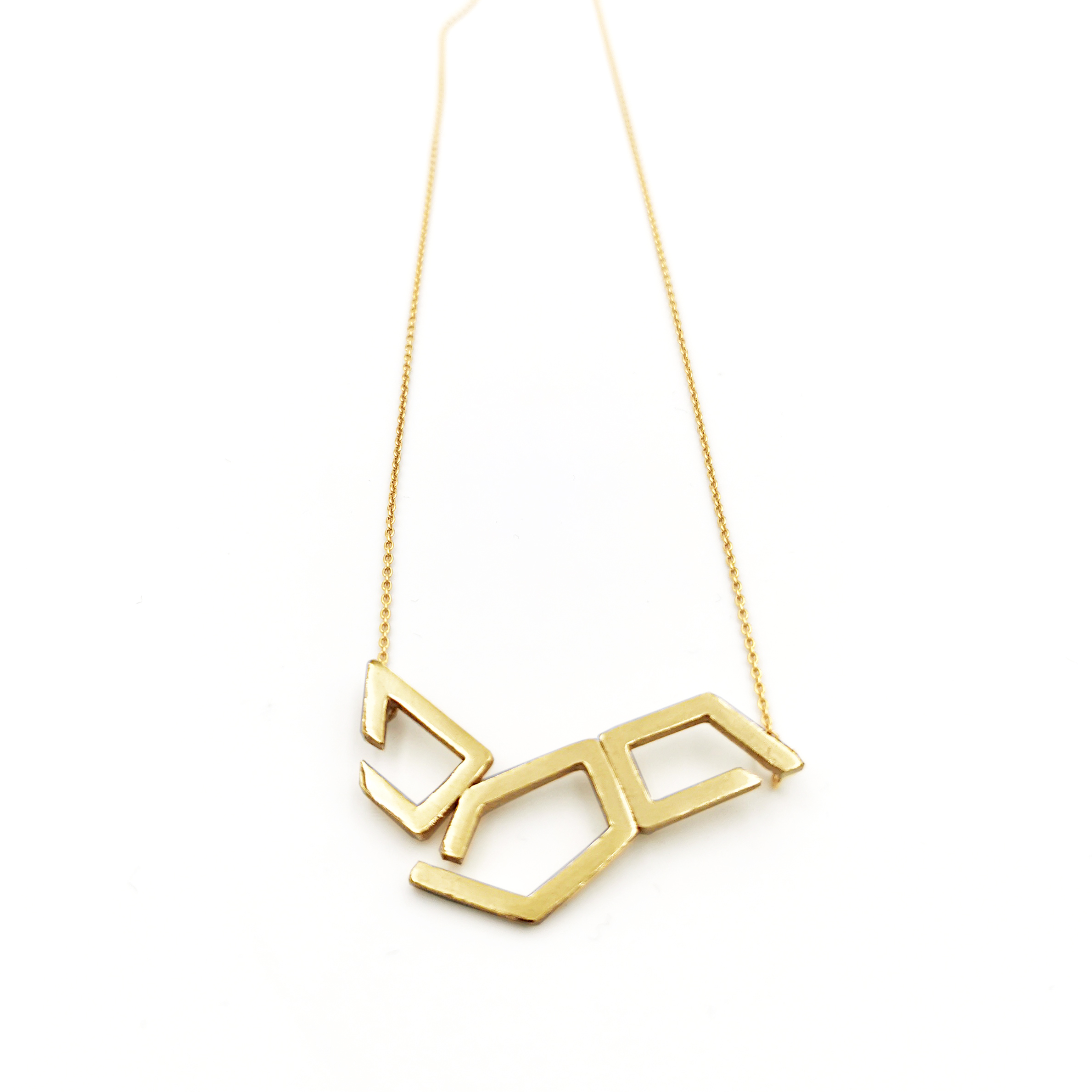 Necklace | Gold Plated Sterling Silver Jewellery