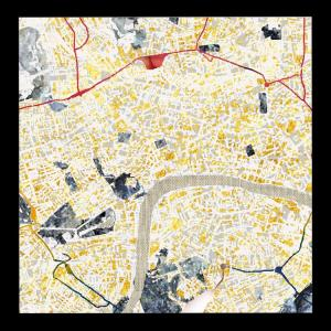London overlaid - Textured City Neckerchief
