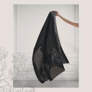 Flower lasercut Shawl