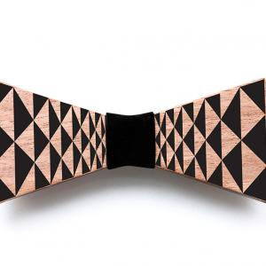 Wood Bow Tie | Bow Tie | Reversible Model A | AG