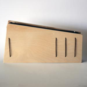 Clutch | Polygonal Wooden Envelope | Plywood