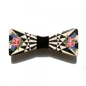 Wood Bow Tie | Bow Tie | NIRVANA-B-ROSE