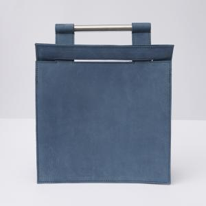 Bag #4 | Blue nubuck leather