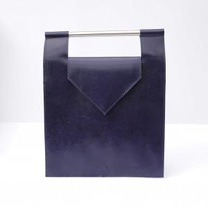 Bag #7 | Blue leather