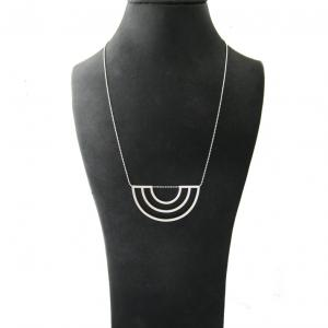 SCALE necklace no.4 - silver