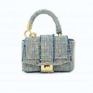 Woman handbag washable  Cotton Tweed XS