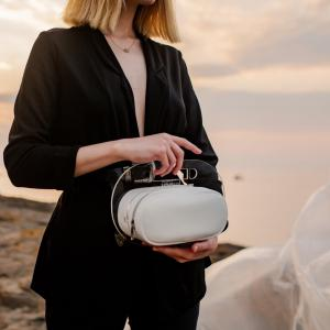 Mykonos White Fillet Bag Woman Handbag