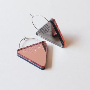 Dual Earrings -Triangle