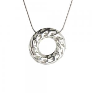 925 Sterling Silver Necklace. D-STRUCTURA