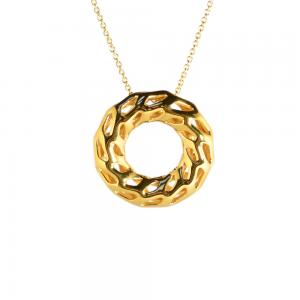 18k Gold Plated Brass Necklace. D-STRUCTURA
