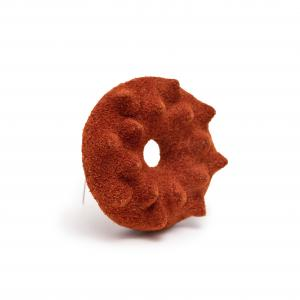 Superorder leather brooch