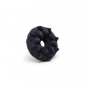 Superorder dark blue leather brooch