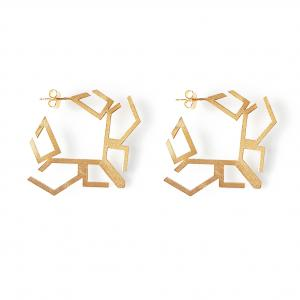 Earrings | Sterling Silver Gold Plated